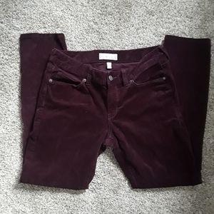 BANANA REPUBLIC skinny fit corduroy pants